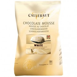 Vit choklad, 800g moussepulver