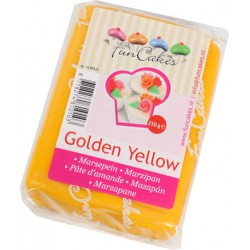 Marsipan, gul 250g (Golden Yellow)
