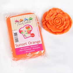 Marsipan, orange 250g (Fun Cakes)