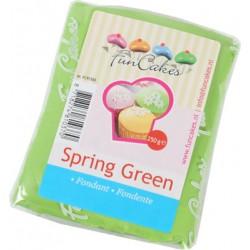 Sugarpaste m vaniljsmak, grön 250g (Fun Cakes)