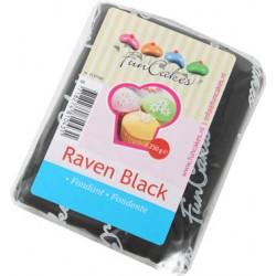 Svart sockerpasta m vaniljsmak, 250g (Raven Black)
