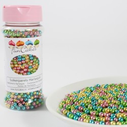Metallic Mix, sockerpärlor (4 mm)