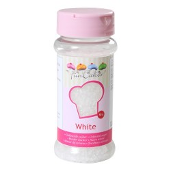 Glittersocker, white