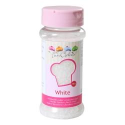 Glittersocker, vit (White)