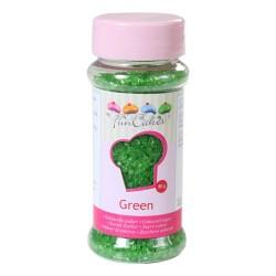 Glittersocker, grönt