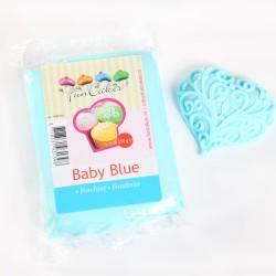 Sugarpaste m vaniljsmak, babyblå 250g (Fun Cakes)