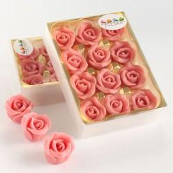 Marsipanrosor, 12 st rosa