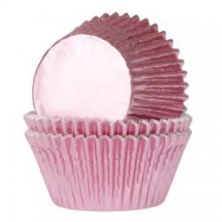 Baby Pink, 24 st muffinsformar (folie)