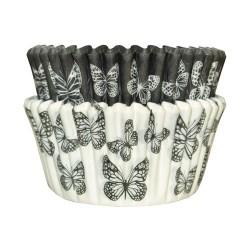 Black Butterflies, 36 st muffinsformar