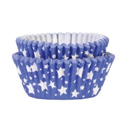 Blue Stars, 36 st muffinsformar