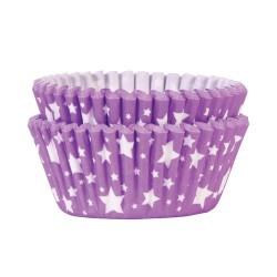 Purple Stars, 36 st muffinsformar