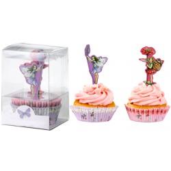 Blossom Fairies, 40 st muffinsformar och 20 st picks