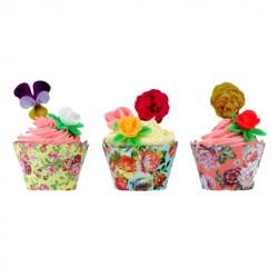 Scrumptious Romance, 24 st cupcake wraps