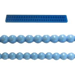 Pärlband, silikonform (BR128)