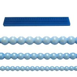 Pärlband, silikonform (BR129)