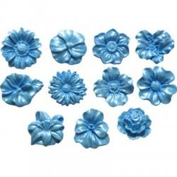 Blommor (små), silikonform