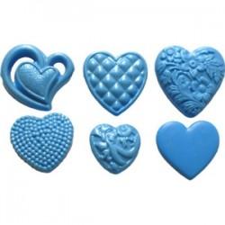 Hjärtan, silikonform