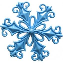 Snöflinga, silikonform