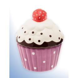 Cupcake, lila burk