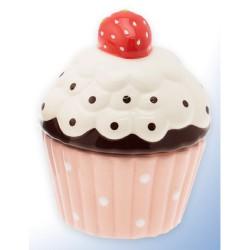Cupcake, rosa burk