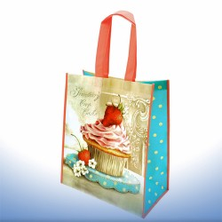 Strawberry Cupcake, shopping bag