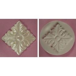Medallion Embla, silikonform