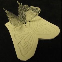 Fjärilsvingar, silikonform (313)