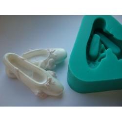 Ballerinaskor, silikonform