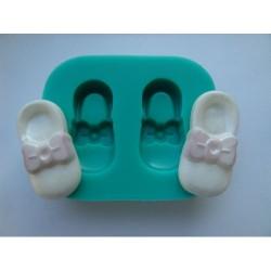 Barnskor, silikonform