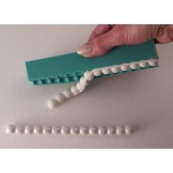 Pärlband 6 mm, silikonform (KBK)