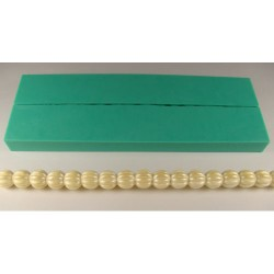 Rippled (kantband), silikonform