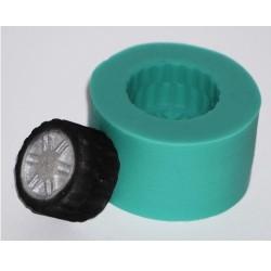 Däck (litet), silikonform