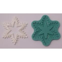 Snöflinga (stor), silikonform