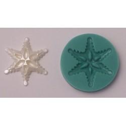 Snöflinga (liten), silikonform