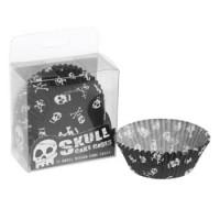 Skull, 72 st muffinsformar