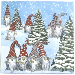 Knas Tomtarnas Jul, 20 st servetter