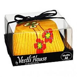 Hedda Yellow, ca 20 st muffinsformar