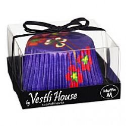 Hedda Purple, ca 20 st muffinsformar