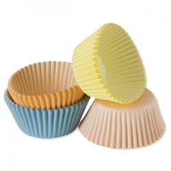 Pastell Romantica , 100 st muffinsformar