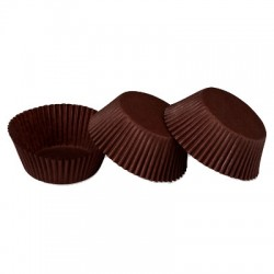 Chocolate Brown, 100 st muffinsformar