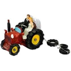 Brudpar, På Traktorn (röd)