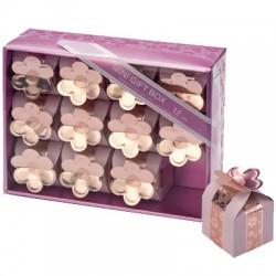 Presentaskar, 12 st rosa