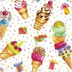 Ice Cream Party, 20 st servetter