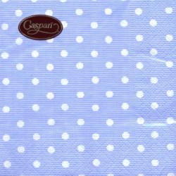 Baby Blue Polka Dots, 20 st servetter