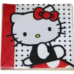 Hello Kitty, 20 st servetter