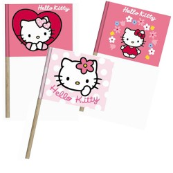 Hello Kitty, 30 st muffinsflaggor