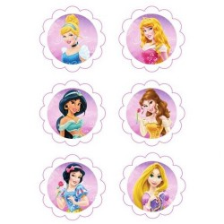 Disney Princess, 6 st sockerbilder