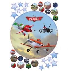 Flygplan,  29 st sockerbilder
