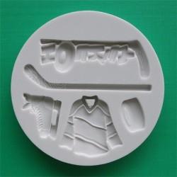 Ishockey (5 motiv), silikonform