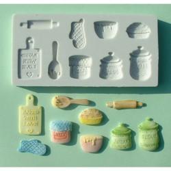 Home Baking, 9 olika motiv (silikonform)